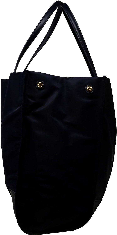 8695ba1b0d2 Title Tory Burch Ella Colorblock Nylon Logo Tote Bag Tory Burch Womens Black  Nylon Ella Tote