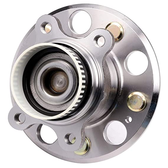 1 Bearings CCIYU 512437Wheel Hub and Bearing Assembly Replacement for fit Hyundai Tucson 2009-2015 Kia Rondo 2008-2012 Wheel Hubs with ABS 5 hubs
