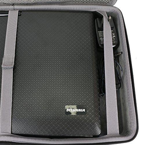 Hard Travel Case for Sylvania 13.3-Inch Swivel Screen Portable DVD Player by co2CREA by Co2Crea (Image #1)