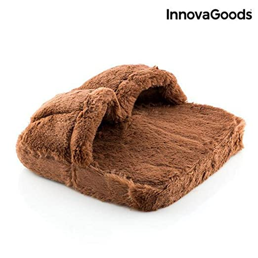 InnovaGoods IG114413 - Masajeador de pies, color marron