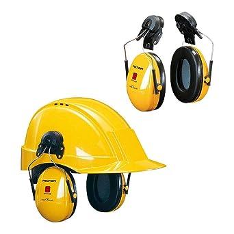 3M Peltor H510P3E Orejeras de protección, 1 unidad/caja, amarillo ...