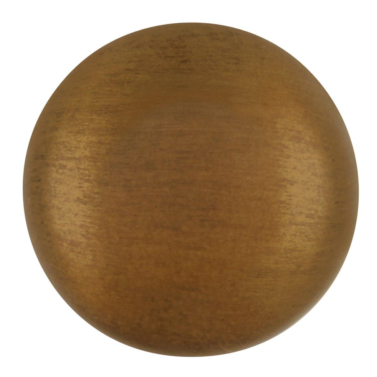 Hickory Hardware P6091-AB Value Collection Knob 1-1//4 Diameter Antique Brass Finish