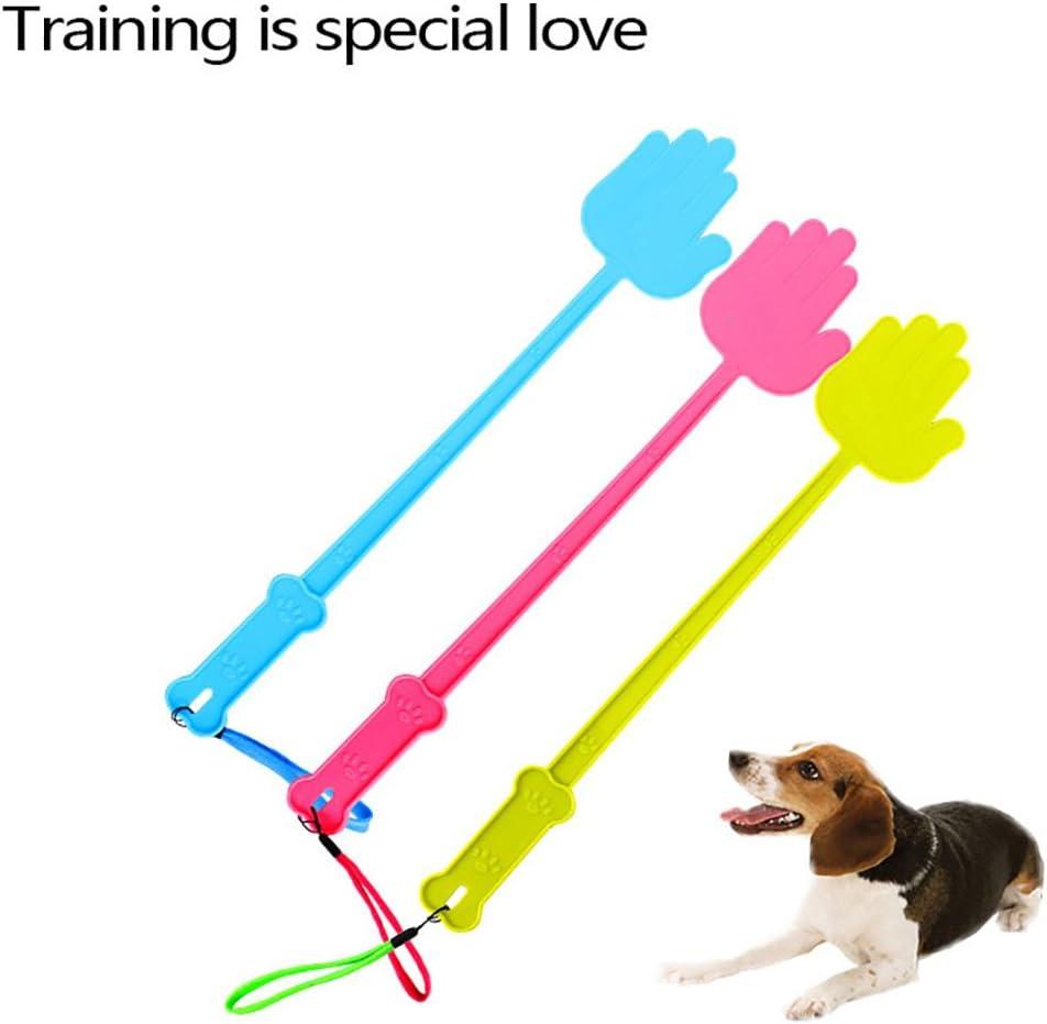 KaariFirefly PlasticTraining Stick Hand Shaped Style Tool Pet Supplies for Dog Puppy Cat 43cm Random Color