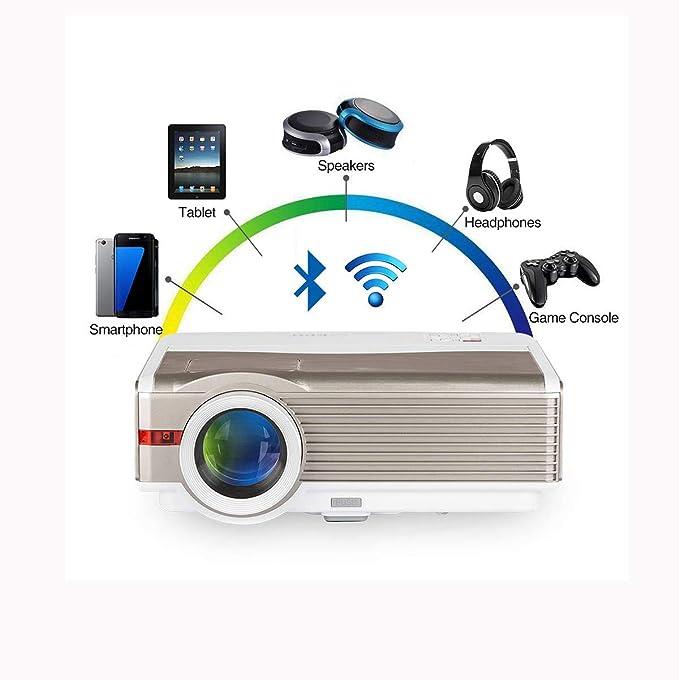 Alto Brillo 8400 lúmenes LCD HD WXGA WiFi Bluetooth Proyector HDMI ...