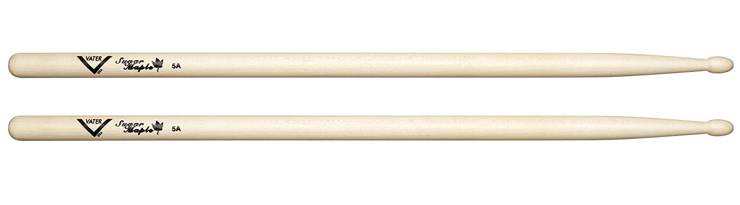Vater Percussion Sugar Maple 5A Wood Tip VSM5AW