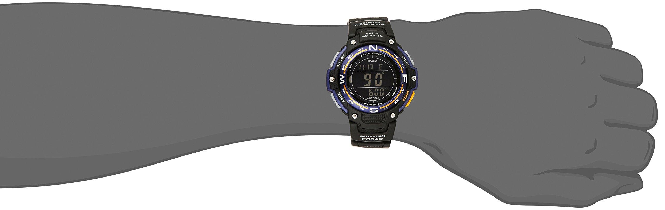 Casio Men's SGW-100-2BCF Twin Sensor Digital Display Quartz Black Watch by Casio (Image #2)