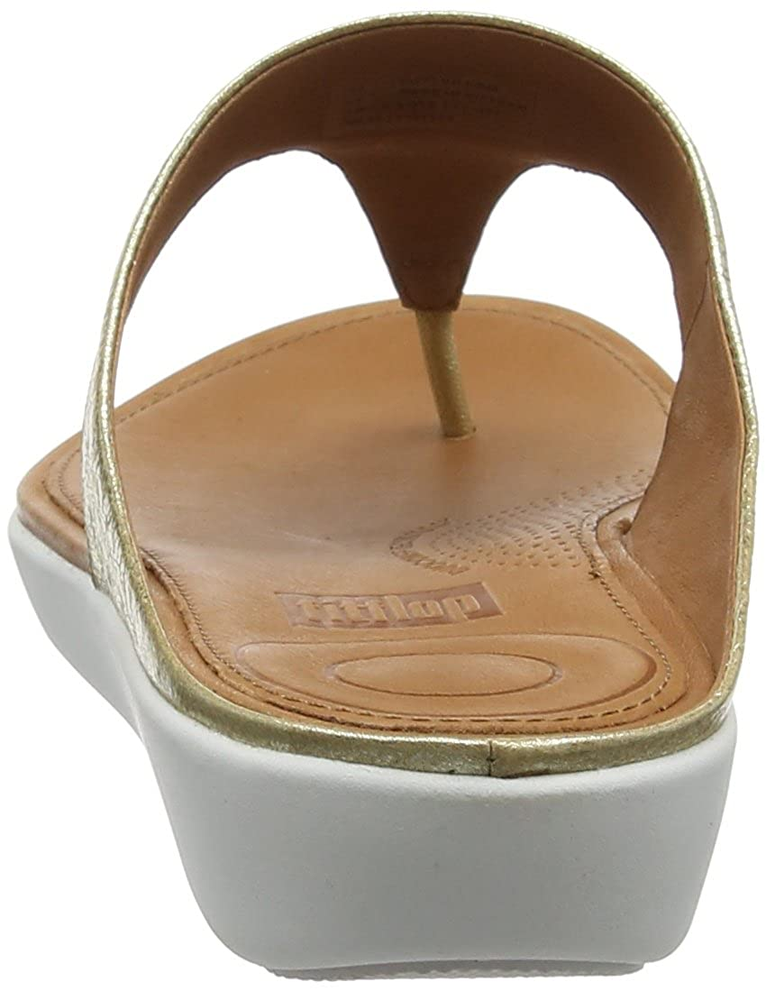 15f6fd730 Fitflop Women s Banda Ii Toe-Thong Sandals-Metallic Open  Amazon.co.uk   Shoes   Bags