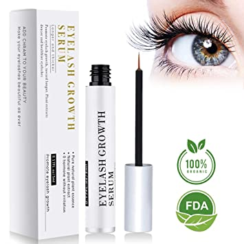 5c22de692a4 BreoLife Eyelash Growth Serum Eyebrow Enhancer (5ml) - Best Eyelash Growth  Serum For Fuller & Thicker Lashes ...