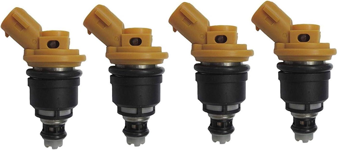 4 x Side 555cc Fuel Injectors For Nissan Silvia S13//14//15 SR20DET 16600-RR543 FJ942