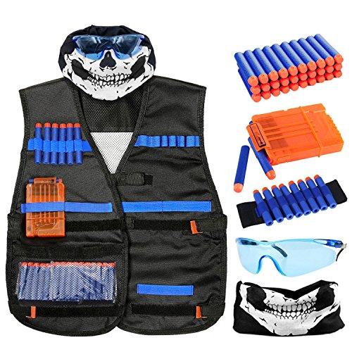 Harlerbo Tactical Nerf Gun Vest Kit for N-Strik...
