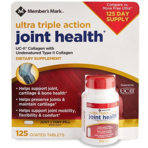 Members Mark Ultra Triple Action Joint Health (125 ct.)