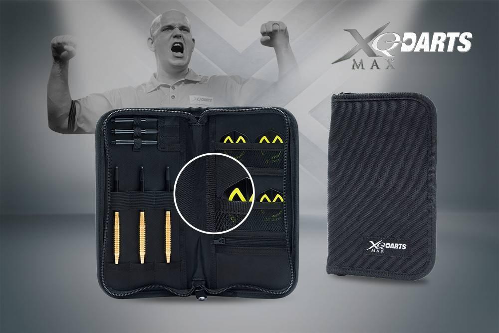 XQ Max de fléchettes Étui, Noir, 1 XQMA8|#XQ-Max qd8000009