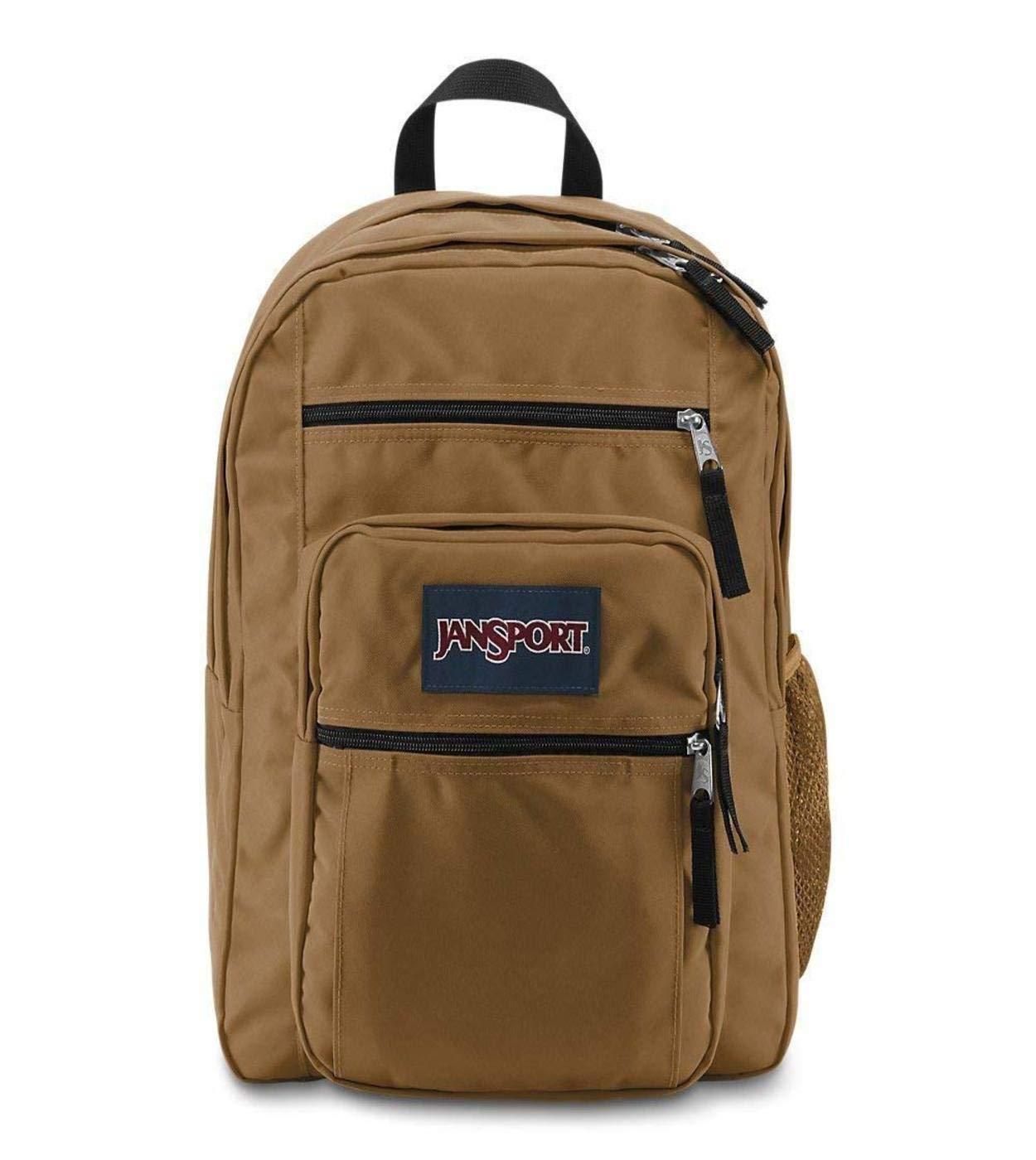Big Student Backpack, BRN-Carpenter Brown
