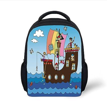 Amazon.com  iPrint Kids School Backpack Pirate 953f9e75eea13