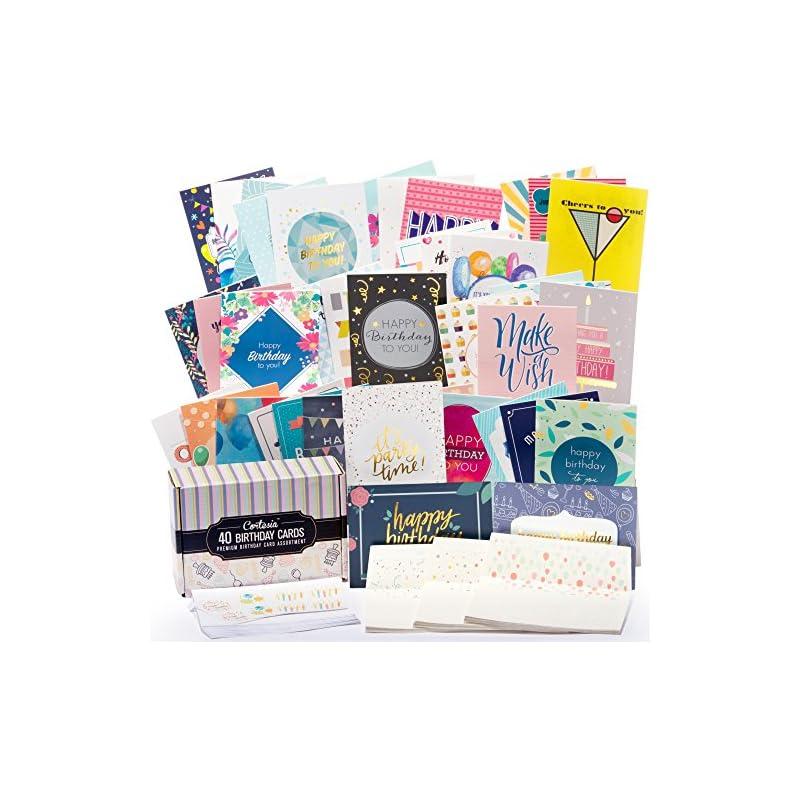 Happy Birthday Cards Bulk Premium Assort