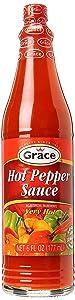 Grace Hot Pepper Sauce 6oz by Grace [Foods]
