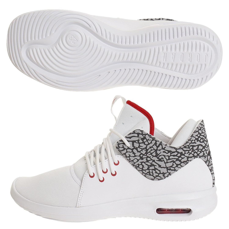 Zapatillas Jordan – Air Jordan First Class Blanco/Rojo/Gris Talla: 41 -