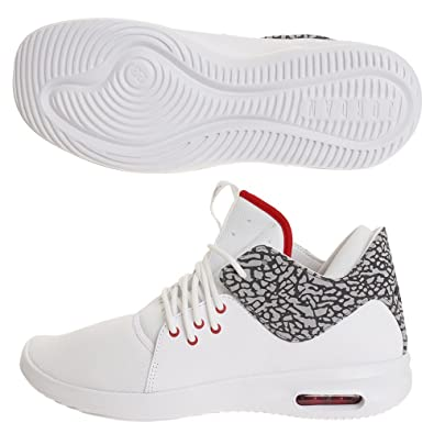 super populaire e60c1 456f7 Jordan Chaussures Air First Class Blanc/Rouge/Gris Taille ...