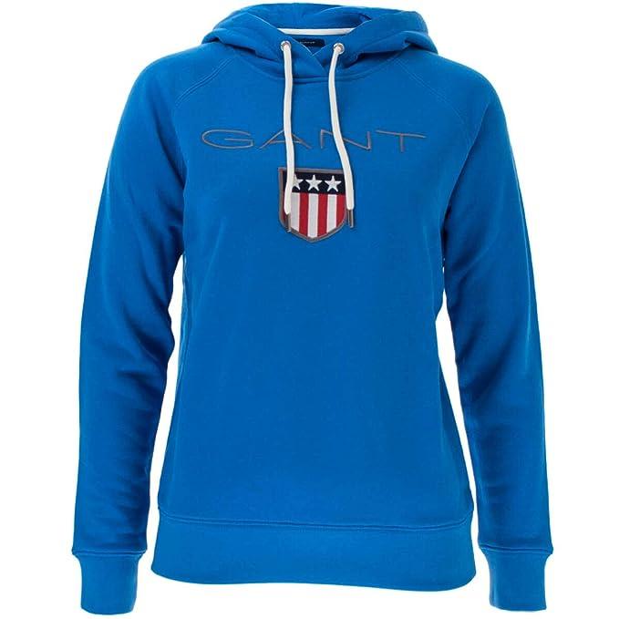 Gant 627-10-90171-Sudadera Mujer Blau(424) M: Amazon.es: Ropa y accesorios