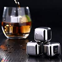 JJSFJH 8 Pcs With Box Bar Accessories Stones Ice Cubes Whiskey Cooler Rocks Ice Stone Letitia