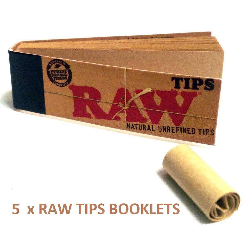 Full Box of Raw Unbleach Tips