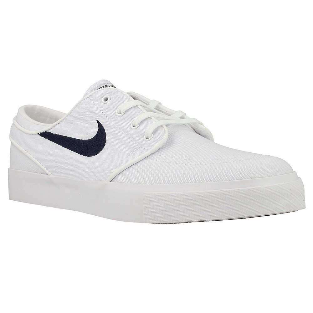 Nike Sb Mens Scarpe Sneakers Zoom Stefan Janoski Canvas Bianco 46