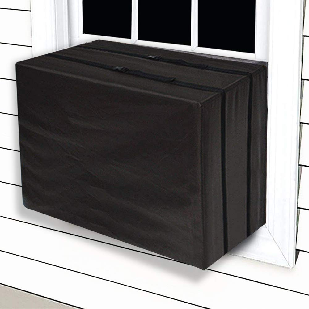 "JIWINNER 17"" x 25"" x 21"" Window Air Conditioner Cover - Winter AC Window Unit Cover"