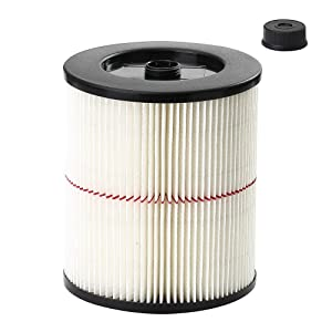 Seelong Replacement Filter Fit Shop Vac Craftsman 17816 9-17816 Wet Dry Vacuum Air Cartridge Filter For 5 gallon Vacuum Cleaner