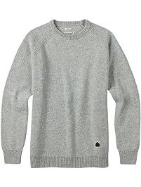 Burton Men's Gus Sweater, Dark Ash Heather, Large