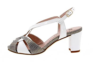Chaussures à lacets Piesanto beiges femme NAf5yqXP05