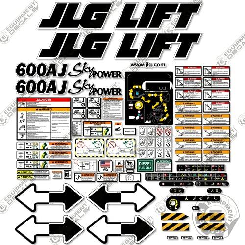 JLG 660SJ Boom Lift Decal Kit SN 0300068000 to 0300087000