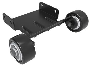 InMotion L8/L8 F ruedas de transporte para patinete Unisex, negro