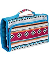 Women's Hanging Roll Up Travel Cosmetic Case Bag - Multiple Prints & Trims!