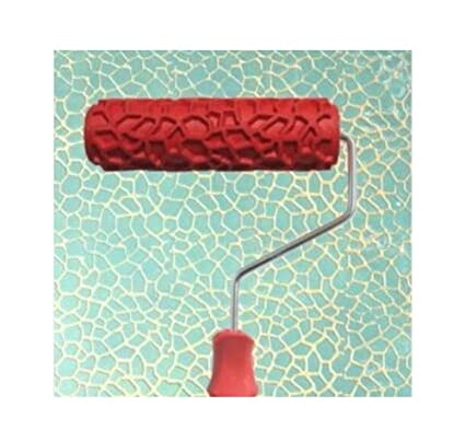 Amazon Com Black Temptation Embossed Paint Roller Wall Painting