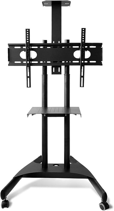 M&G Techno - Soporte para televisor (con Ruedas, Altura Regulable, hasta 180 cm): Amazon.es: Electrónica