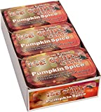 ICE CHIPS Xylitol Candy Tins (Pumpkin Spice, 6 Pack) - includes ICE CHIPS BAND as shown