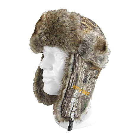 7d85cb90cdeab Amazon.com  Hot Shot Men s Sabre Trapper Hat