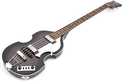 Hofner HI-BB-SB-L-O Guitarra de bajo de 4 cuerdas, mano izquierda ...