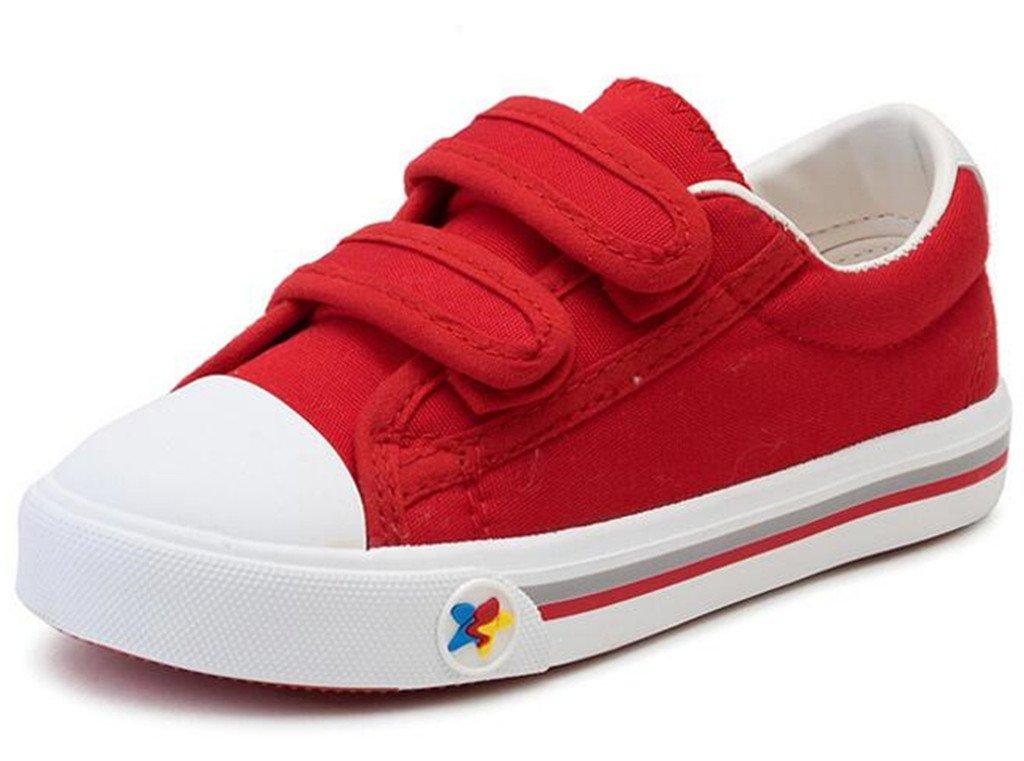 DADAWEN Boy's Girl's Athletic Easy Strap School Loafers Sneakers Shoes (Toddler/Little Kid/Big Kid) 70442