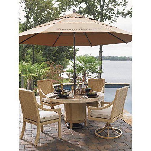 Tommy Bahama Alfresco Living Patio Umbrella in Cork