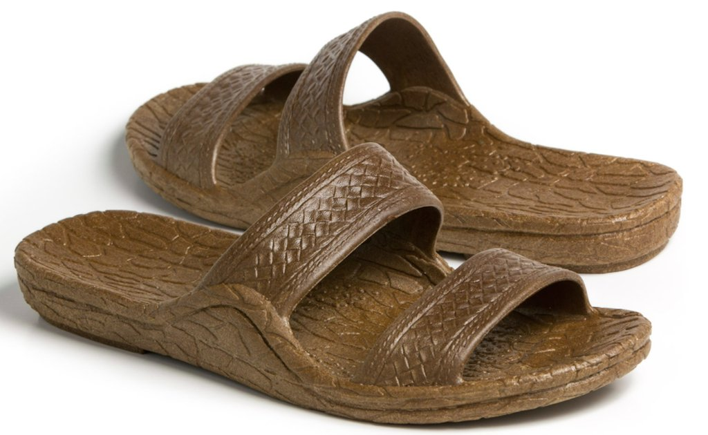 Pali Hawaii Brown Hawaii Unisex Sandal (8) by Pali Hawaii