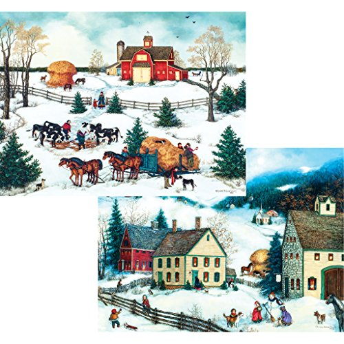 Bits and Pieces - Set of Two (2) 1000 Piece Jigsaw Puzzle for Adults 20