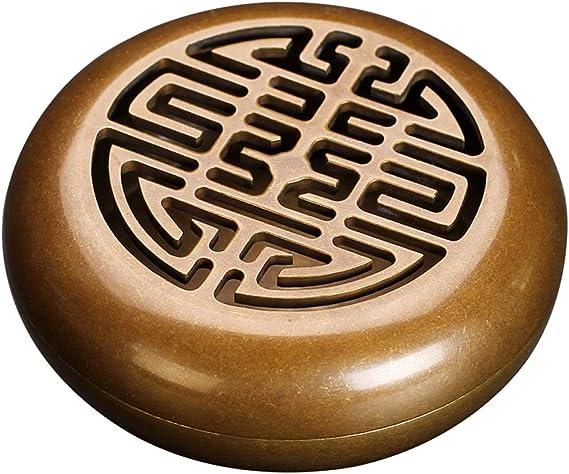 芳香器・アロマバーナー レトロ純銅香炉ポータブルシール香炉、仏教線香立て世帯香サンダルウッド香炉 アロマバーナー芳香器