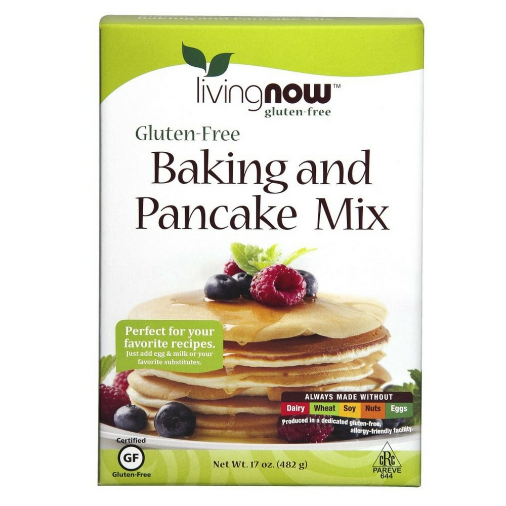 NOW Foods Gluten Free Baking and Pancake Mix, 17 Ounce (Pack of 14)