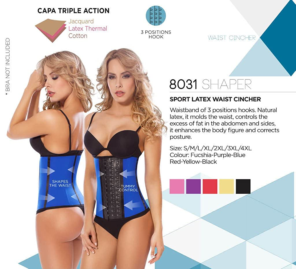 6d6875a58ef MOLDEATE 8031 Workout Waist Cincher. at Amazon Women s Clothing store