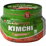 Chongga Kimchi - Kosher Certified - 3 Pack - Imported from Korea - Traditional Korean Cabbage (10.58oz x 3) - Halal - Vegan - Probiotic