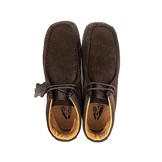 cfc889be8330d Hush Puppies DAVENPORT HIGH Mens Suede Boots Chocolate UK 10: Amazon.co.uk:  Shoes & Bags