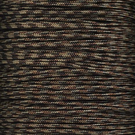Crafting General Use and Much More 25 and 100 Foot Hanks of 425 Paracord Survival 3mm PARACORD PLANET 10 Made of 100/% Nylon for Tactical 50