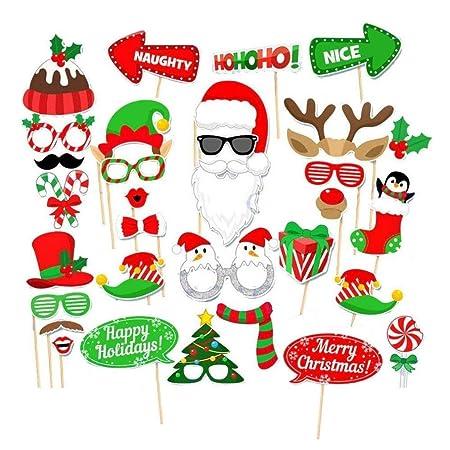 Accesorios para tarjetas de Navidad, decoración divertida ...