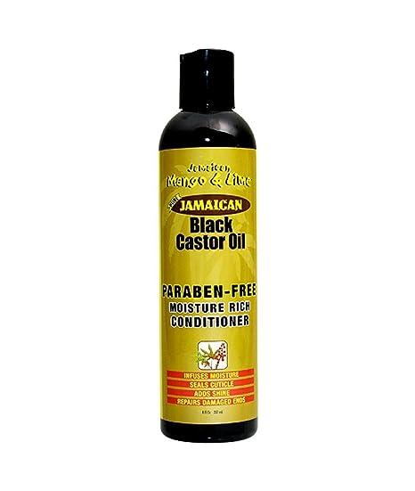 Jamaican Mango & Lima apres-shampoing aceite de ricino Negro 236 ml – juego de